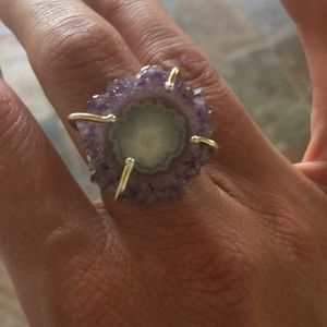 Jewelry - Stunning Amethyst Crystal Ring ✨💜